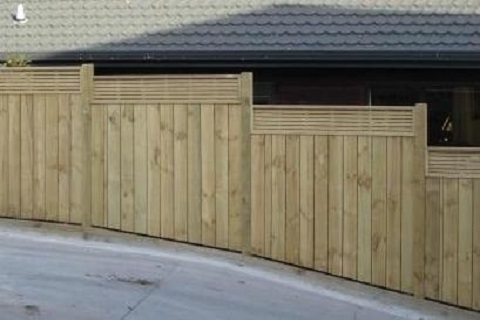 Fence Designs Nz Home bay city fencing standard timber fences workwithnaturefo