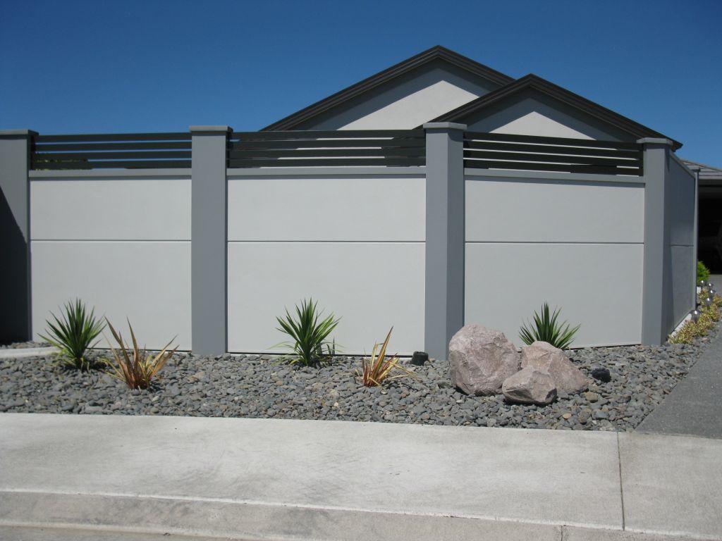 Fence Designs Nz Gates bay city fencing belaire designer fencing workwithnaturefo